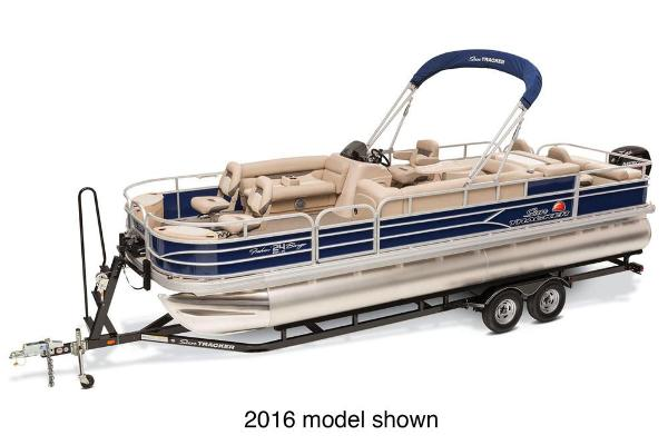 2017 Sun Tracker Fishin' Barge 24 DLX
