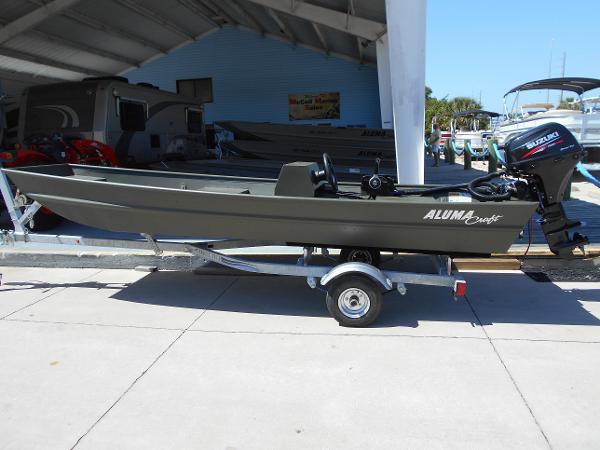 2016 Alumacraft 1436 Jon Sierra LT