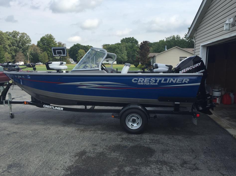 2013 Crestliner Fish Hawk 1650