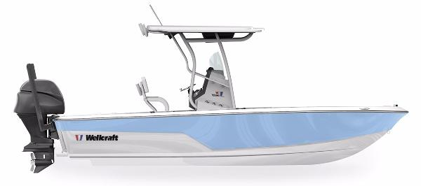 2017 Wellcraft 221 Fisherman