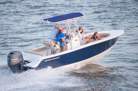 2017 Sportsman Boats Heritage 211 Center Console
