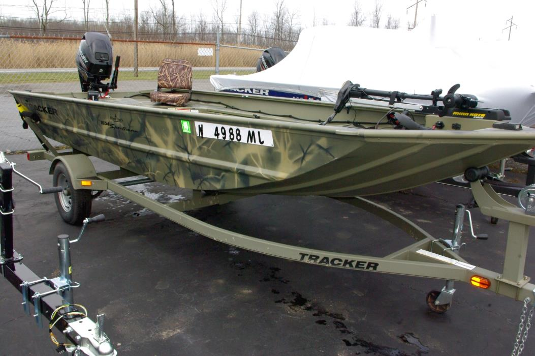 2014 Tracker Grizzly 1654 Sportsman