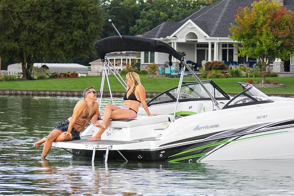 Hurricane sun deck boats for sale in hampstead new hampshire for Swimming pool center hampstead nh