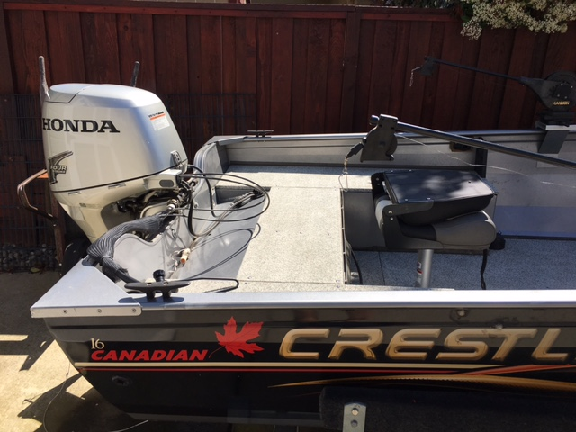 2007 Crestliner Canadian 1650