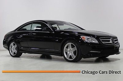 Mercedes-Benz : CL-Class CL550 4matic SPORT 12 cl 550 4 matic sport premium 2 drivers assistance heated seats illuminated sils