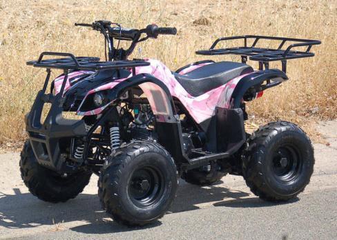 Pink ATV