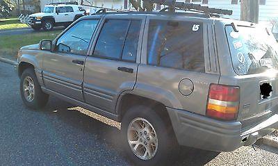 Jeep : Grand Cherokee Limited Sport Utility 4-Door 1996 jeep grand cherokee limited sport utility 4 door 5.2 l