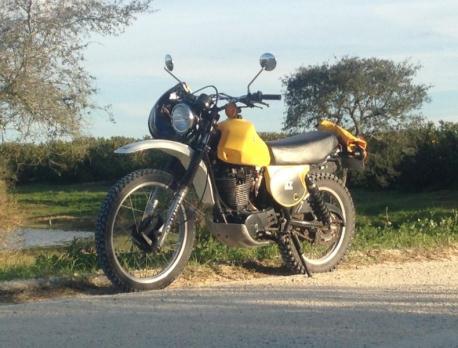 1980 Yamaha XT500 enduro