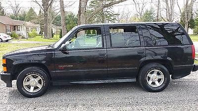 Chevrolet : Tahoe SS Limited 2000 chevrolet tahoe ls sport utility 4 door 5.3 l