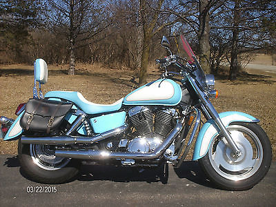Honda : Shadow 2003 honda shadow sabre vt 1100 c 2 only 12 470 miles very clean