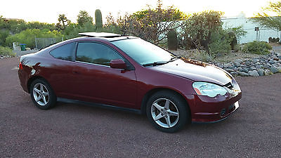 Acura : RSX Base Coupe 2-Door Clean 2003 Acura RSX Base Coupe 2-Door 2.0L 5 Speed Manual Beautiful Dark Red