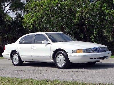 Lincoln : Continental Signature Sedan 4-Door 1995 lincoln continental signature sedan 4 door 4.6 l