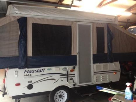 2012 flagstaff popup camper model 207