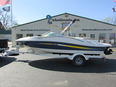 2007 Sea Ray 185 Sport Runabout with trailer