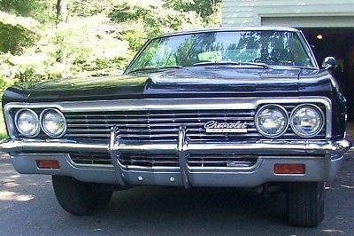 Chevrolet : Impala super sport 1966 chevrolet impala super sport ht
