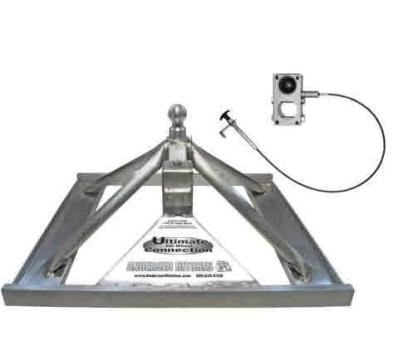 New Aluminum Ultimate 5th Wheel to Gooseneck Hitch