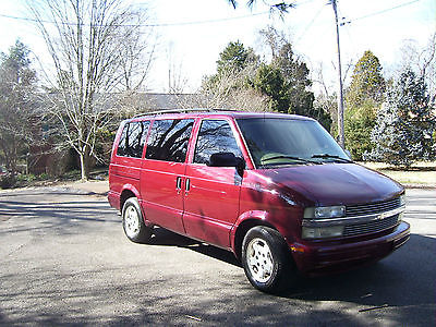 Chevrolet : Astro LT 2004 chevy astro with lt interior package and rear entertainment