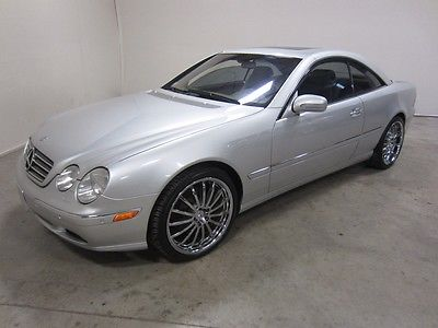 Mercedes-Benz : CL-Class CL500 2002 mercedes benz cl 500 5.0 l v 8 leather sunroof power everything auto rwd