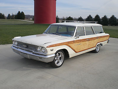 Ford : Galaxie Country Squire 1963 ford county squire