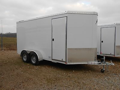 2014 Featherlite Model 1610 14' Enclosed Aluminum Trailer