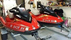 10' 2003 Sea Doo RXDI Jet Skiis
