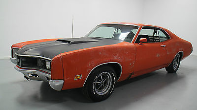 Mercury : Other CYCLONE 1970 mercury cyclone 429 thunder jet big block barn find calypso coral