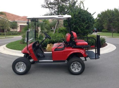 EZGO Custom Electric Golf Cart