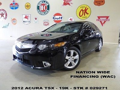 Acura : TSX Tech Pkg 12 tsx sedan tech pkg sunroof nav back up cam htd lth 17 in whls 19 k we finance
