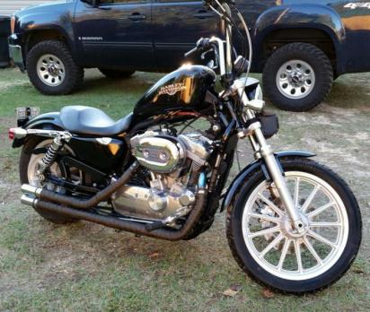 2009 Harley Davidson 883 Low