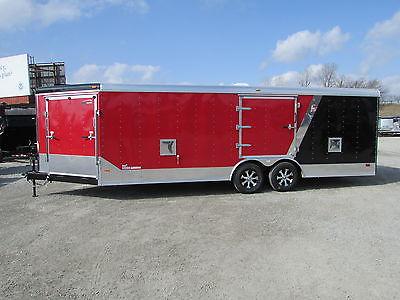 27' Enclosed Car ATV Snowmobile Trailer *OPEN HOUSE SALE FRI 4/24 & SAT 4/25 @DR