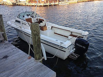 24' Grady white offshore walkaround w/ 150 hp Mercury outboard and trailer