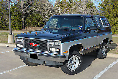 GMC : Jimmy SLE 1990 gmc k 5 jimmy sle 4 x 4 k 5 blazer