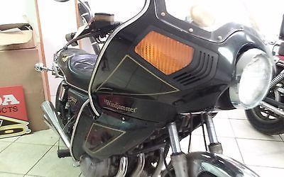 Honda : CB 1980 honda cb 900 custom with vetter fairing