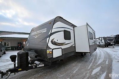 New 2015 Trail Runner 27FQBS Travel Trailer Camper by at RV Wholesalers