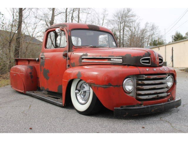 Ford : Other Pickups 1950 ford f 1 one of a kind rat rod with air ride kit