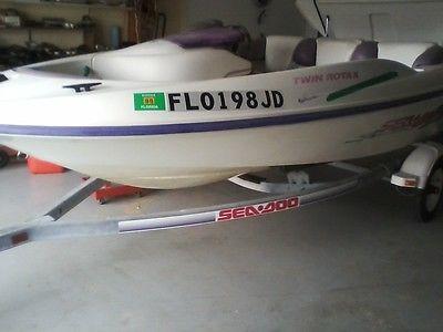 Sea Doo Twin engine jet boat