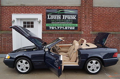 Mercedes-Benz : SL-Class SL500 SL500 ALL SERVICED! HARD TOP INCLUDED! 4 NEW TIRES! RARE CLASSIC COLORS! CLEAN!