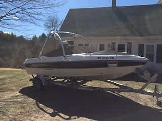 2010 Stingray 195LX w/ Volvo 4.3L 190hp V6, 200 hrs and only used in fresh water