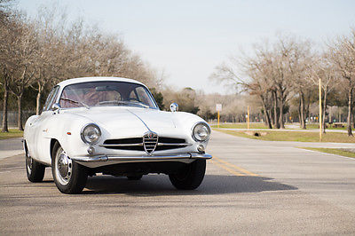 Alfa Romeo : Other Giula SS 1964 alfa romeo guilia ss striking original color white ss