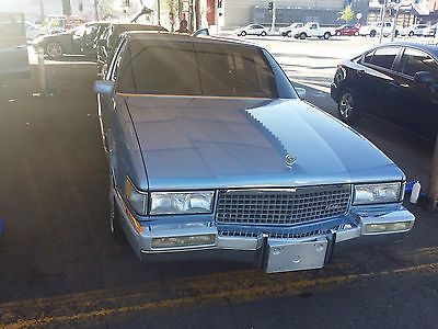 Cadillac : Fleetwood 60 Special 1989 cadillac fleetwood 60 special original owners no rust california car