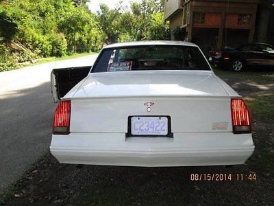 Chevrolet : Monte Carlo SS Classic Tags 88 monte ss 120000 miles 5 l v 8 automatic numbers matching new tires
