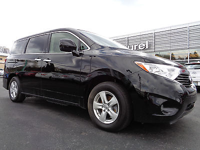 Nissan : Quest Quest SV 3.5L V6 Rear Camera Power Doors Black Certified 2014 Quest 3.5 SV Rear Camera Super Black 1 Owner Video 7504 Miles