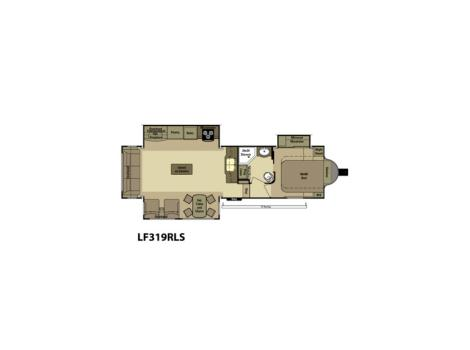 2015 Highland Ridge Rv The Light LF319RLS