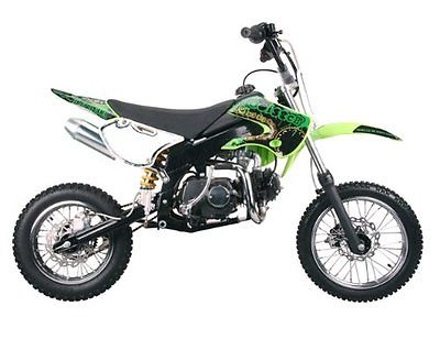 Other Makes Dirt bike 125cc Manual Clutch, Red Green or Blue Coolster