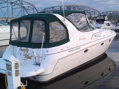 2000 Cruisers Yachts 3375 express cruiser, Volvo Duo Prop, Trailer, winter cover