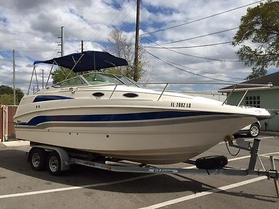 2000 Chaparral Signature 240 Boat Cabin Cruiser not commodore sundancer