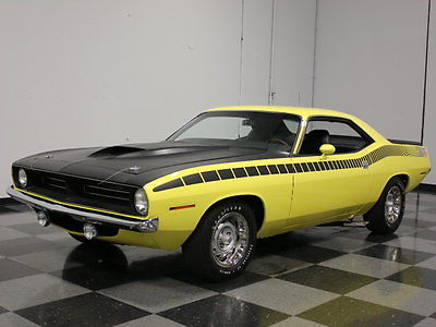 Plymouth : Other AAR REAL-DEAL AAR 'CUDA, NUMBERS MATCHING, ROTISSERIE RESTORATION, MOPAR LEGEND!!