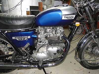 Triumph : Bonneville 1976 triumph bonneville t 140 750 cc