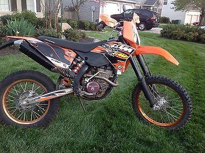 KTM : Other KTM 250 XCF / 300 Big Bore Street Legal - very nice shape, low hours