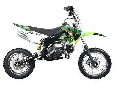 Other Makes SSR Motorsports SR110 Pit Bike - 110cc Dirt Black Red Orange White Green Blue
